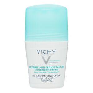 VICHY 48H Intensive Anti-perspirant Deodorant Roll-on Women 1.69 oz