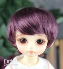 """Fatiao - New Dolls Wig Dollfie Yo-SD 1/6 BJD 6-7"""" - eggplant"""