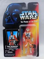 Kenner Star Wars The Power of the Force Luke Skywalker X-Wing Gear Orange Card