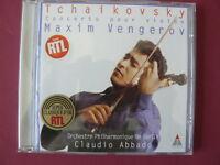 MAXIM VENGEROV CLAUDIO ABBADO  TCHAIKOVSKY GLAZUNOV concerto pour violon TELDEC