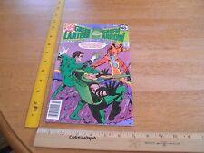 The Green Lantern 114 Bronze Age comic 1970's F/Vf Saviuk Giordano Arrow