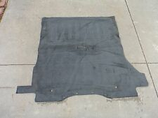 99-01 ISUZU VEHICROSS REAR CARGO CARPET OEM