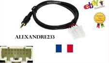Cable auxiliaire adaptateur mp3 iphone autoradio Mazda RX8 jusqu'à 2006 aux