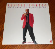 George Howard Do I Ever Cross Your Mind Poster 2-Sided Flat Promo 12x12 Jazz