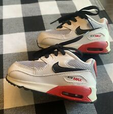 Toddler NIKE Air Max Size 5c Red WHITE Black GRAY