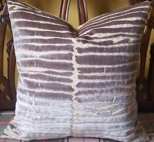 Donghia Rubelli MODERN ART Madreperla Italian Velvet Art Deco Custom Pillow Covr