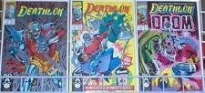 Deathlok 1-3 1991 Marvel Comic Set