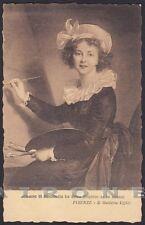 ELISABETH VIGÉE LEBRUN 01 PITTRICE - FRANCE - FIRENZE Cartolina viaggiata 1908