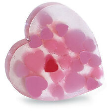 PRIMAL ELEMENTS HEART OF HEARTS 6.0 OZ. VEGETABLE GLYCERIN BAR SOAP HANDMADE