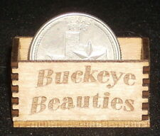 Dollhouse Miniature Buckeye Beauties Produce Crate 1:12 Farm Food, Market, Store