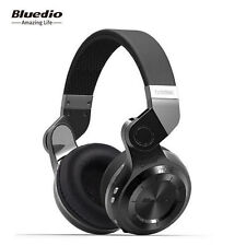 Bluedio T2 Plus Stereo Headset Wireless Bluetooth Earphone Mic/FM/SD Radio Black