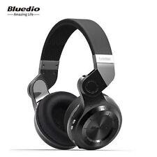 Bluedio T2 Plus Stereo Headset Wireless Bluetooth Earphone Mic/FM/SD Radio Black