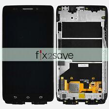 Motorola Droid Ultra XT1080 MAXX 1080M LCD Display Touch Screen Digitizer Frame