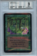 MTG Alpha Wild Growth BGS 9.0 (9) Mint Magic WOTC Card 0659