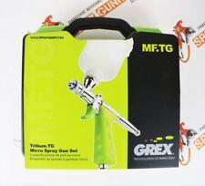 Grex Tritium.TG Gravity Feed Piston Trigger Micro Spray Gun Set 0.5mm