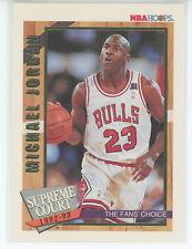 1993-94 Hoops Basketball Supreme Court #SC1 Michael Jordan