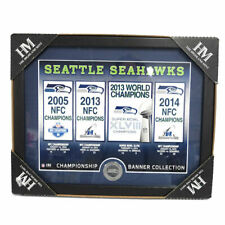 NFL Seattle Seahwaks Highland MINT Super Bowl Champions Banner Collection XLVIII