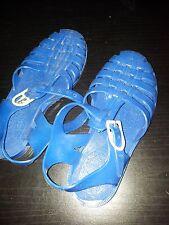 Sandales plastique bleues pointure 31