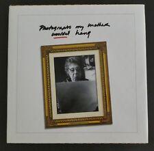 Photographs My Mother Wouldn'T Hang 2002 Robert Fischer w Dj Hardcover