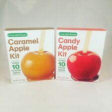 Concord Foods Candy Apple Kit & Caramel Apple Kit - 1 Each - Makes 10 Each