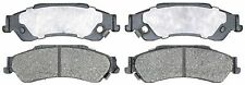 ACDelco 14D729CH Rear Ceramic Brake Pads