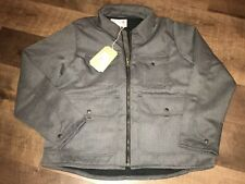 FILSON - Bell Bomber Jacket - XL - Wool - Dark Gray - $395