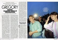 Coupure de Presse Clipping 1989 (3 pages) Affaire Gregory Michel Villemin