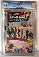 JUSTICE LEAGUE OF AMERICA #19 - CGC 8.0 - DOCTOR DESTINY APPEARS - OW/W PAGES