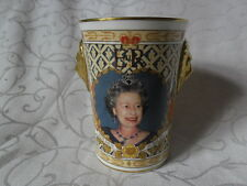 Caverswall Lionhead Beaker, The Queen's Golden Jubilee 2002