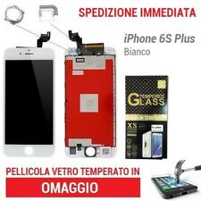 TOUCH SCREEN RETINA DISPLAY  FRAME PER APPLE IPHONE 6S PLUS BIANCO 3D TOUCH HD