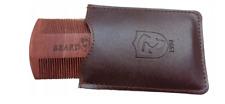 Beard Bross Wooden Comb + Case
