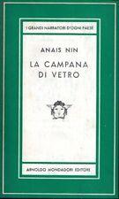 LA CAMPANA DI VETRO ANAIS NIN 1951 PRIMA EDIZIONE MEDUSA MONDADORI (JA814)