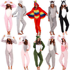 1Onesie Ladies All in One Pyjamas Ladies Pyjama Set Ladies Fleece Pyjamas Animal