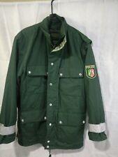German Police. - Polizei-  All Weather Jacket Parka GoreTex.With liner. 50