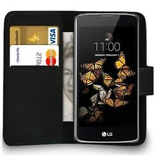Case Cover For LG G2 G3 G4 G5 G6 K10 k8 Magnetic Flip Leather Wallet Phone book