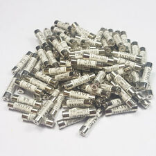 100 x 5 Amp Fuses Domestic Household Fuse Electrical Appliances Mains Plug Fuses