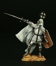 Tin soldier, Collectible, Marshal of Teutonic Order, XII c., 54 mm, Medieval