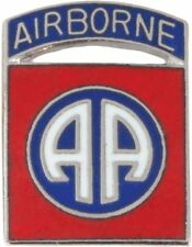 No-Shine (NS-T-P-0082A) 82nd Airborne Division Tie Tac