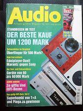 AUDIO 2/96 MARANTZ CD 17,SONY CDP XA 5 ES,T+A P 1200 R,A 3000,ARAGON 18 K ,8800