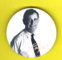 RALPH KLEIN - ALBERTA'S BEST PREMIER, CALGARY MAYOR, OYMPIC SUPPORTER,  BUTTON