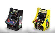 "MY ARCADE GALAGA + Pac-Man Bandai Namco 6"" Retro Micro Arcade Machine Video Game"