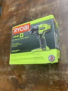 "Ryobi P261 18V Li-Ion 1/2"" 3-Speed Impact Wrench (Tool Only)"