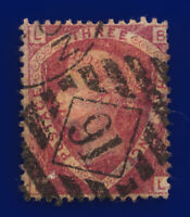 1874 SG52 1½d Lake-Red Plate 3 G6(2) BL London Good Used Cat £75 cvqe
