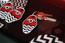Twin Peaks Schlüsselanhänger, David Lynch, Eraserhead, kult keychain 3D Druck