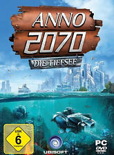 Computer PC Game ANNO 2070 The Deep Sea (Add-On) Expansion DVD Shipping NEW