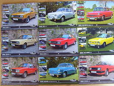 Skoda Car Rear Engined Postcards @ 9: 110 R Garde 1000 MB 120 100 L Postkarten