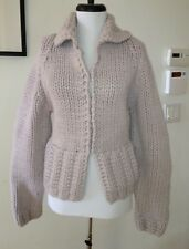 Marc Jacobs Heavy Knit Lilac Wool / Cashmere Cardigan Size L