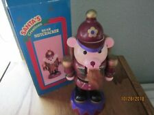 """Bear Nutcracker Santa's Creations Tl Toys 8"""" adorable"""