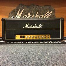 Marshall 1976 JMP Bass 50w Head Model #1986 Black w/ modern cover