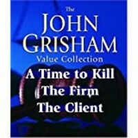 John Grisham-Value Collection A Time To Kil, The Firm, The Client 11 CD SET